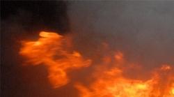Flaş... Erzurum'da Yangın...