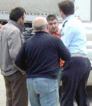 Erzurum'da polis tokat atınca!