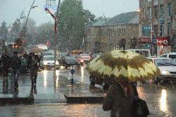 Erzurum'da Kar Sürprizi...