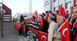 Erzurum'da Teröre Tepki...