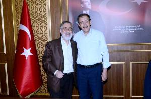 PROF. DR. GEMALMAZ, BAŞKAN BULUTLARI ZİYARET ETTİ