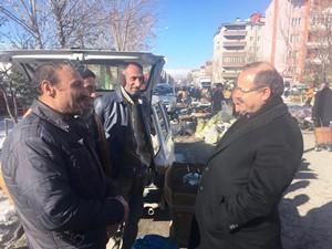 Milletvekili Deligöz'den esnafa ziyaret