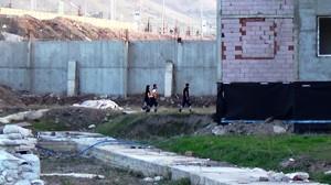 Erzurum'da polisi alarma geçirdi