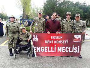 Kent Konseyi Engelliler Meclisi Askerde