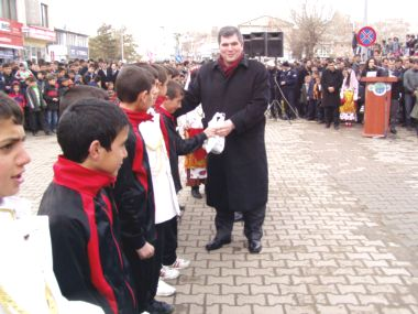 Horasan'da Kurtuluş Coşkusu