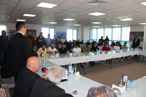 Vali Okay Memiş'ten B.B. Erzurumspor'a ziyaret