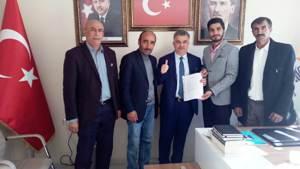 Osman Kucur  Çat'a Başkan aday adayı oldu