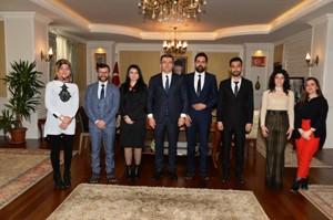 UCİM'den  Erzurum Valisi Okay Memiş'e  Ziyaret