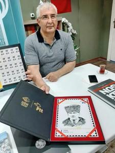 100.yıla damga vuran Prof.Dr. Kadıoğlu'na şükran plaketi