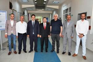 Ak Parti Erzurum Milletvekili Selami Altınok'tan, Başkan Hakan Oral'a ziyaret