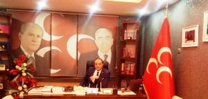MHP Erzurum İl Başkanı Karataş'tan Kandil mesajı