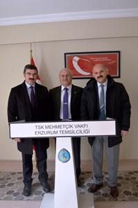 AÇSH İl Müdürü İlbaş'tan Mehmetçik Vakfına ziyaret