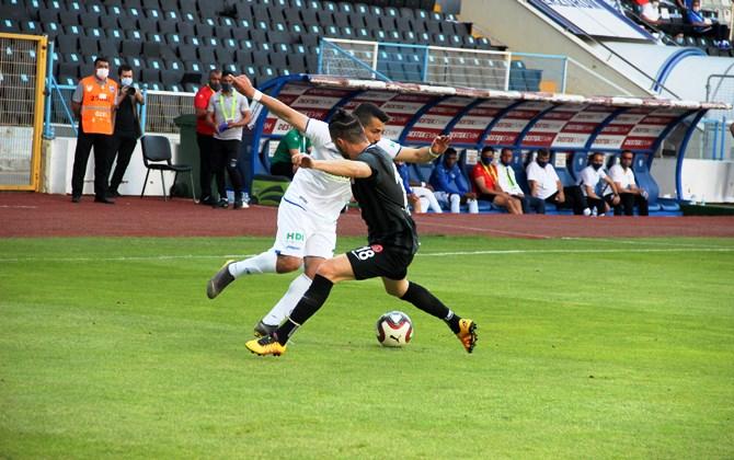 Erzurumspor'un TFF 1. Lig karnesi