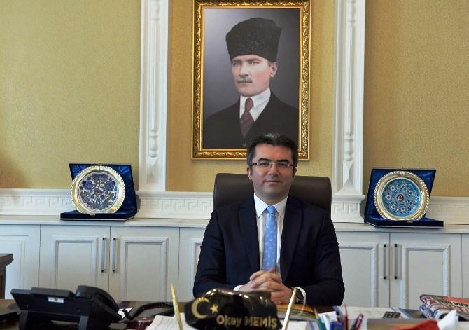 "VALİ MEMİŞ'TEN ""24 TEMMUZ BASIN BAYRAMI'' KUTLAMA MESAJI"