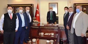 CHP Milletvekillerinden ETSO'ya ziyaret