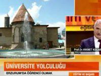 Rektör Hikmet Koçak, CNN TÜRK'ün Konuğu Oldu