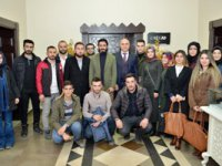 Ak Parti Yakutiye Gençlik Kolları'ndan Ali Korkut'a ziyaret