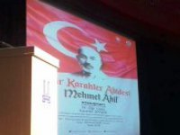 TYB Mehmet Akif Konferansı Düzenledi
