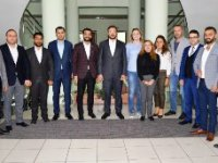 TOBB GGK BÖLGE TEMSİLCİSİ AÇIKBAŞ'TAN ETSO'YA ZİYARET