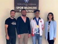 Erzurum Teknik Üniversitesinde madalya sevinci