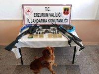 Erzurum'da silah ticareti ve uyuşturucu madde operasyonu: 10 tutuklama